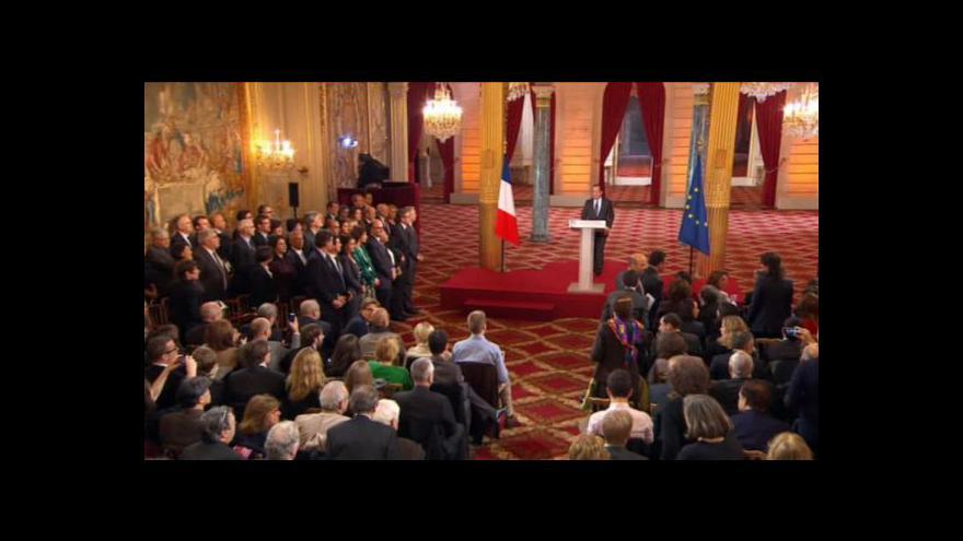 Video Hollande vysvětloval svou politiku