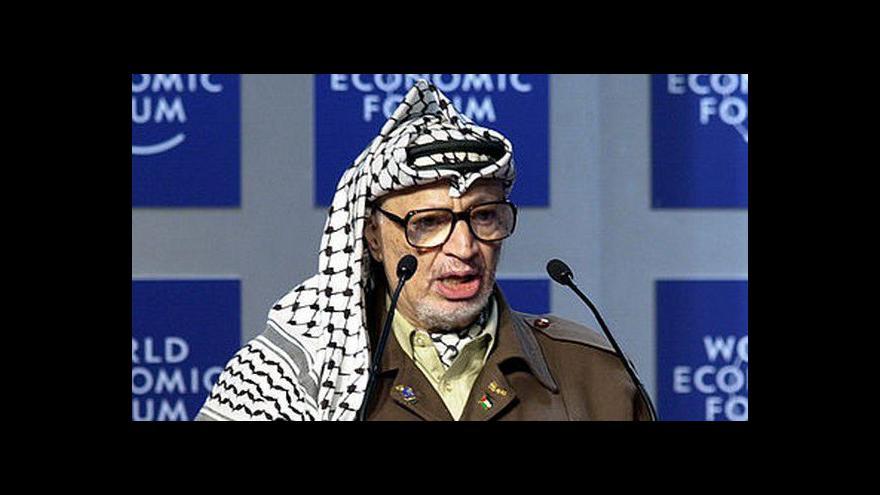 Video Odborníci pracují na exhumaci ostatků Arafata