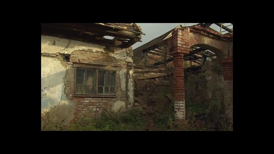 Video NO COMMENT: Ruina ve Slupi už není památkou