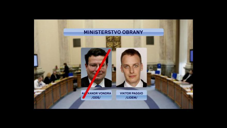 Video Reportáž Vladimíra Keblúška o možných změnách ve vládě