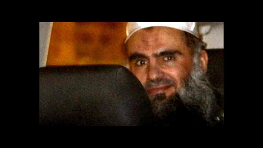 Video Abú Katada bude dnes propuštěn