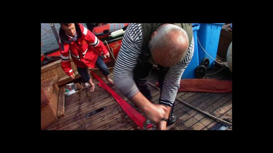 Video Reportáž Ivana Lukáše o plachetnici La Grace