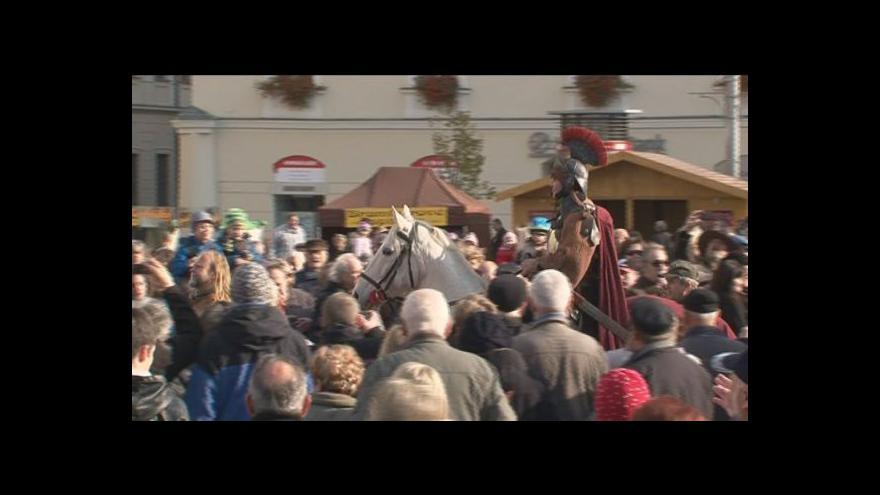 Video NO COMMENT: Svatomartinský košt v Brně