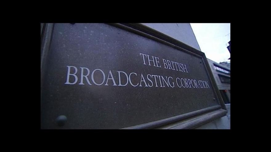 Video Generální ředitel BBC George Entwistle odstoupil