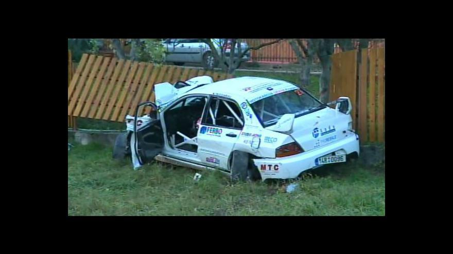 Video NO COMMENT: Tragická nehoda na RallyShow Uherský Brod