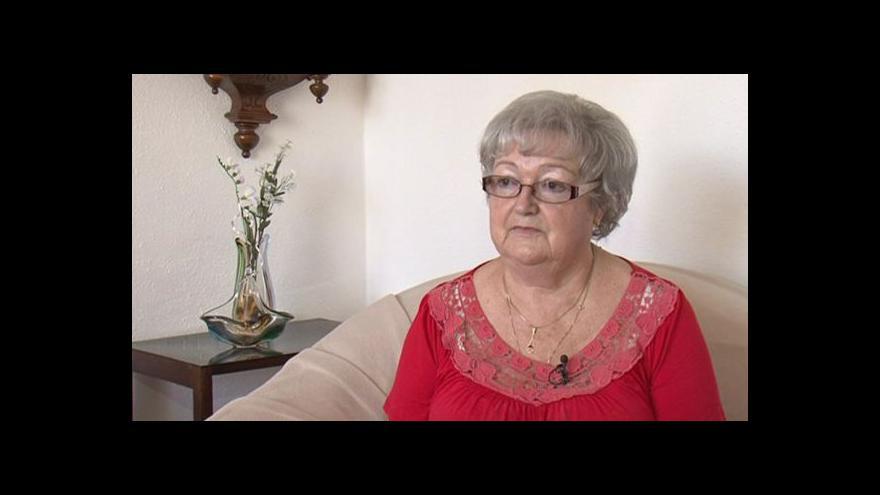 Video Nový výtah potěšil i Hildegardu Rejdovou