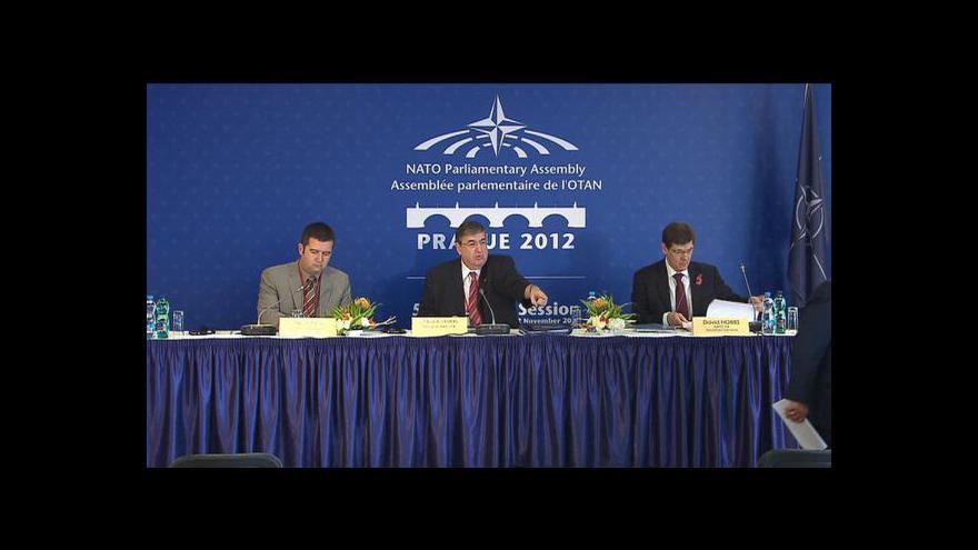 Video Parlamentní shromáždění NATO v Praze