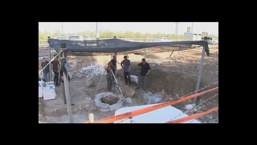 Video Izrael: 8 500 let staré kostry ve studni