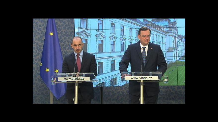 Video TK vlády k aktualizaci Státní energetické koncepce České republiky