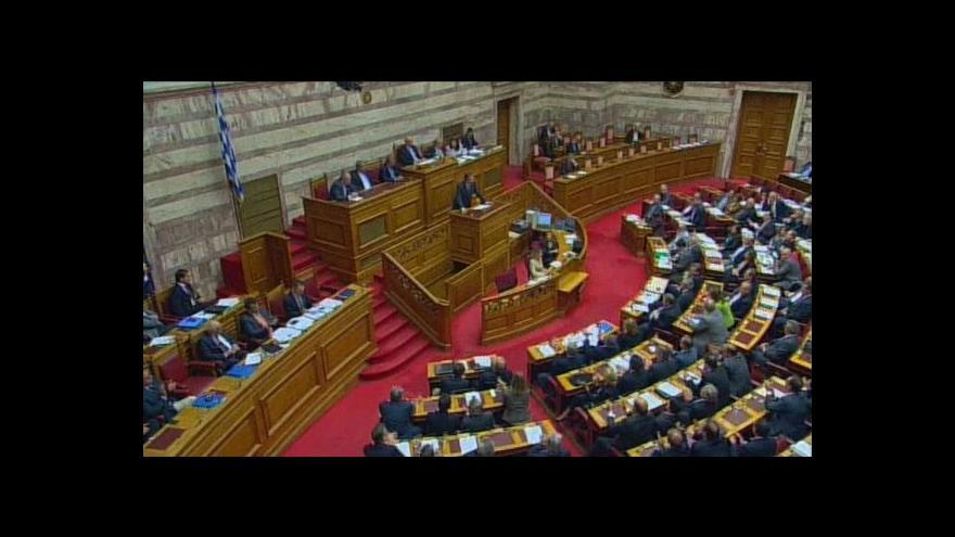 Video Řecko schválilo další úsporný balík