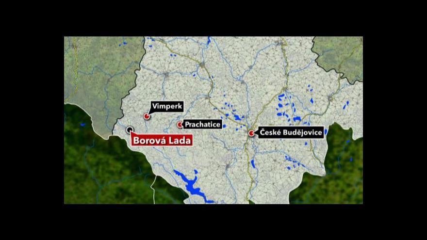 Video Policie prodala areál bývalé pohraniční roty v Borových Ladech