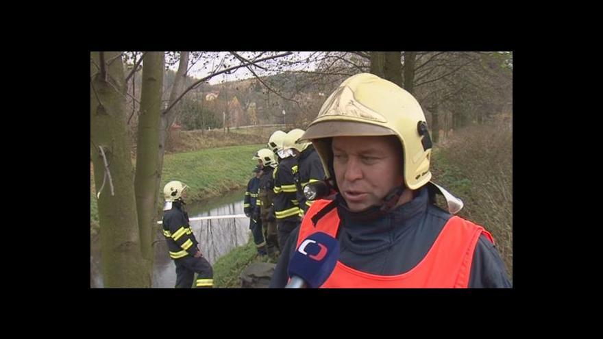 Video Hovoří velitel hasičského zásahu Michal Černý