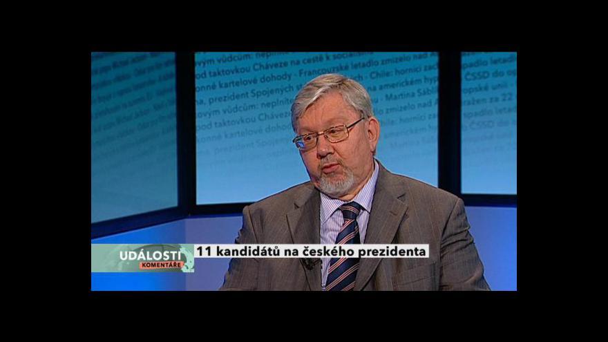 Video Petr Pithart a Aleš Gerloch hosty Událostí, komentářů