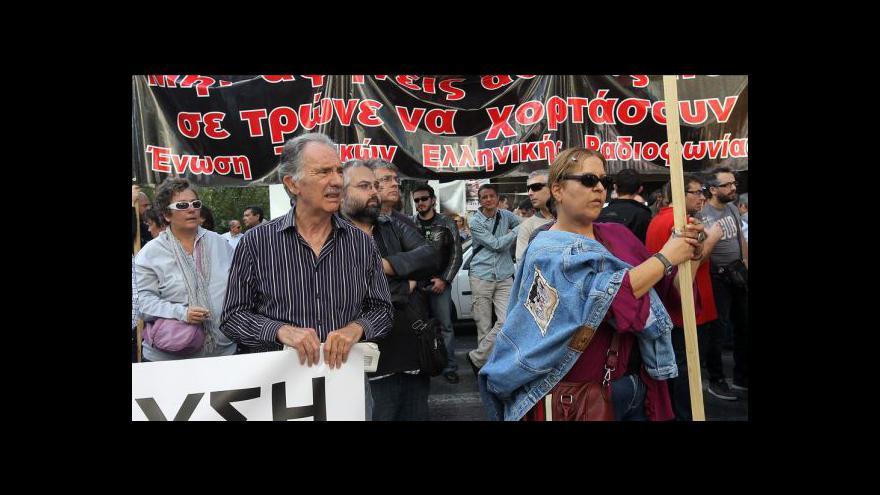 Video Řecko opět zachvátila generální stávka