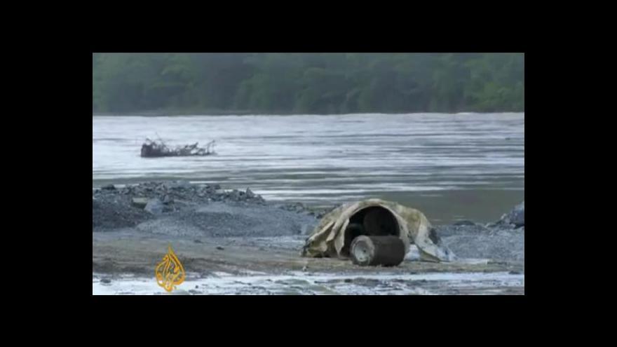Video Na Mekongu vyroste obří elektrárna