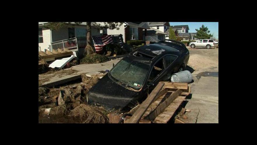 Video Úřady se snaží, aby Sandy nenarušila volby