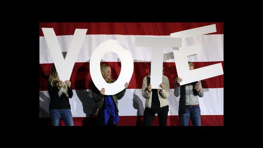 Video Pro Obamu a Romneyho nadešel den D