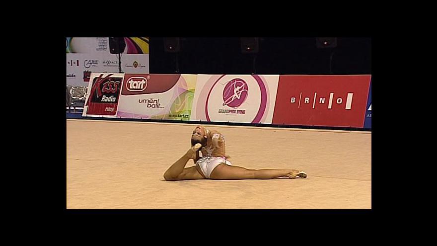 Video Gymnastické GP v Brně