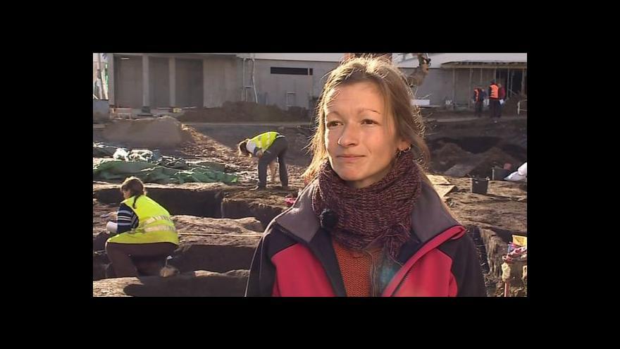 Video Hovoří vedoucí archeologického výzkumu Lenka Sedláčková
