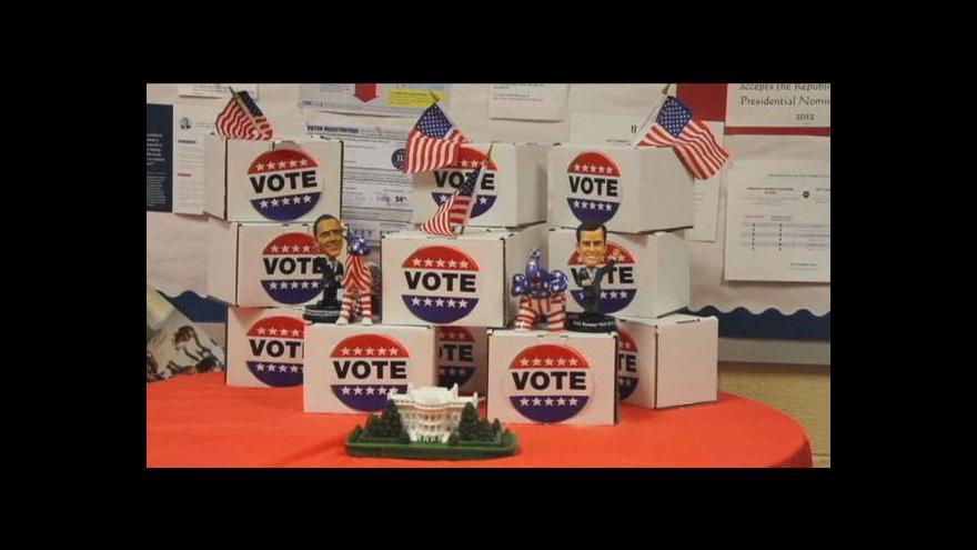Video Američtí školáci si zkusili volit