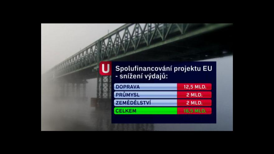 Video Nový návrh rozpočtu v Událostech ČT24