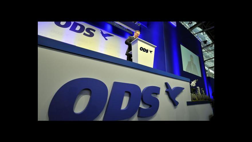 Video 23. kongres ODS tématem Událostí ČT