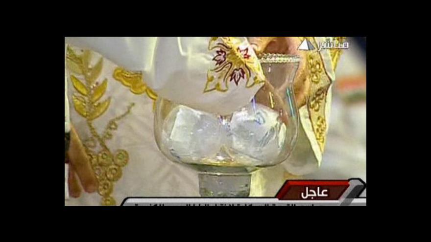 Video Tavadros povede koptskou pravoslavnou církev