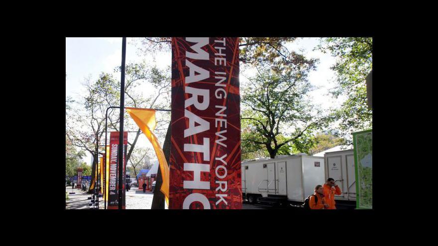 Video Vít Pohanka o zrušení newyorského maratonu