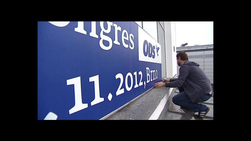 Video Kongres ODS pohledem Martiny Lustigové