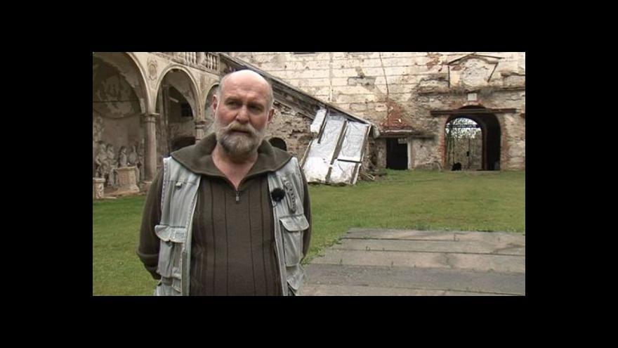 Video Správce zámku František Štěpán o osudu uherčického zámku