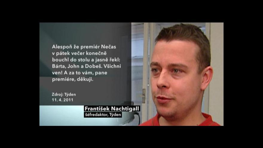 Video Rozhovor s Františkem Nachtigallem