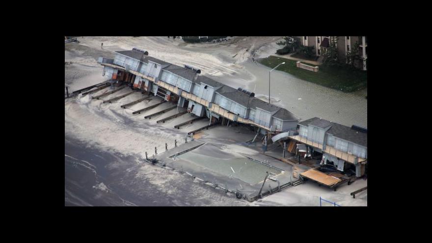 Video Počet obětí Sandy se blíží k šedesáti