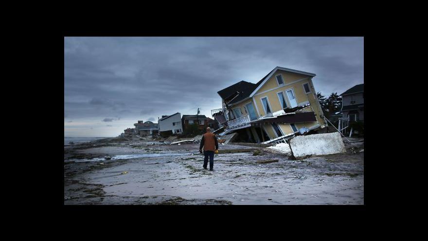 Video Události k hurikánu Sandy