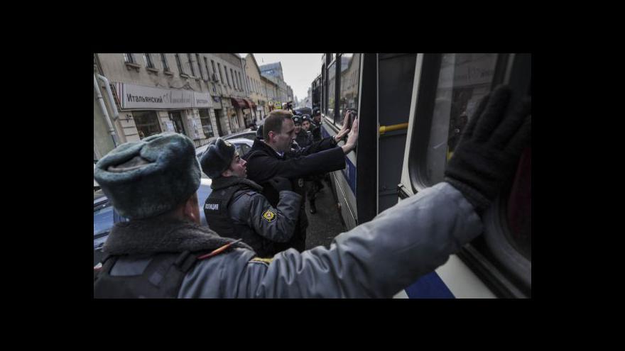 Video Bloger Navalnyj dostal pokutu