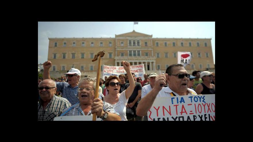 Video Řekové tlumí privatizační plány