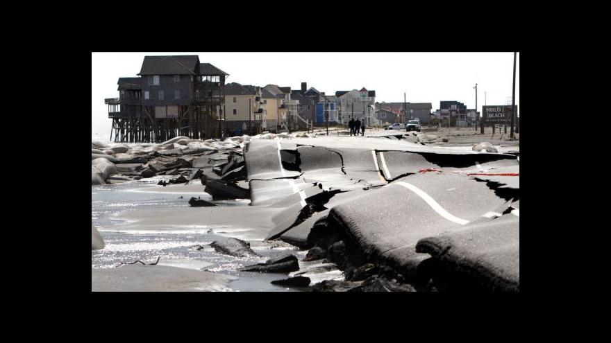 Video Tragická bilance Sandy: 48 mrtvých, miliardové škody