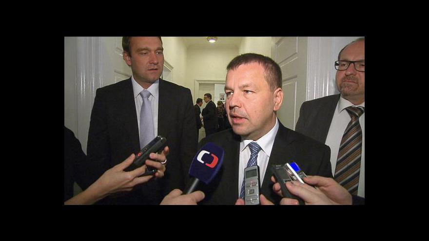 Video Poslanci ODS budou řešit daňový balíček