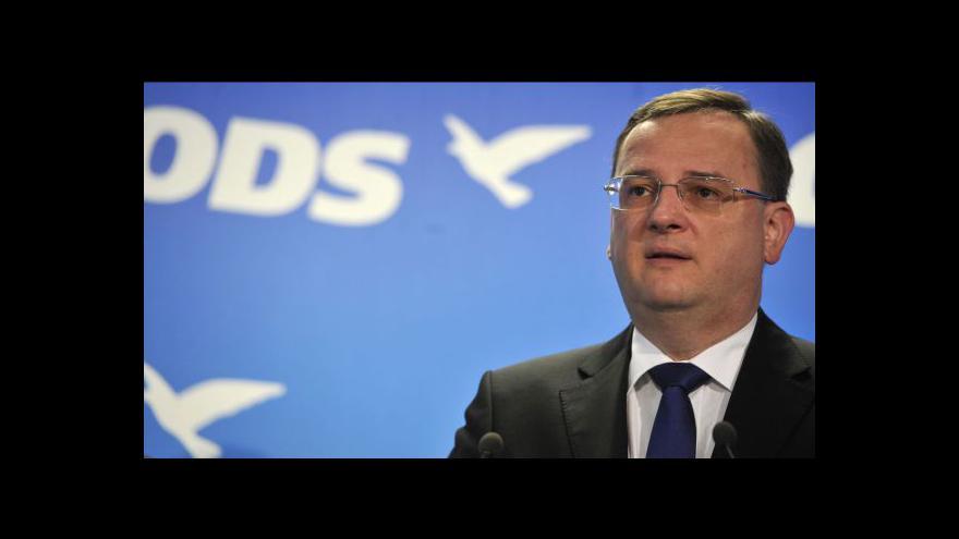 Video Petr Nečas má před nadcházejícím stranickým kongresem podporu dalších regionů