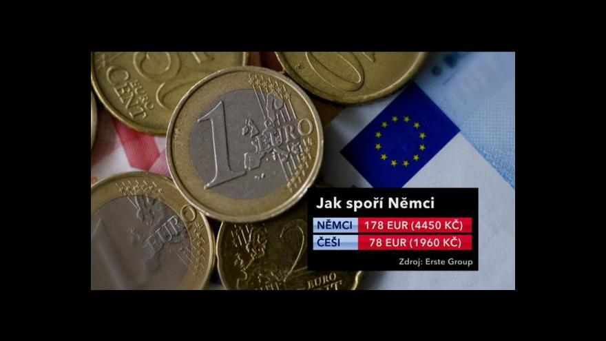 Video Evropané šetří na horší časy