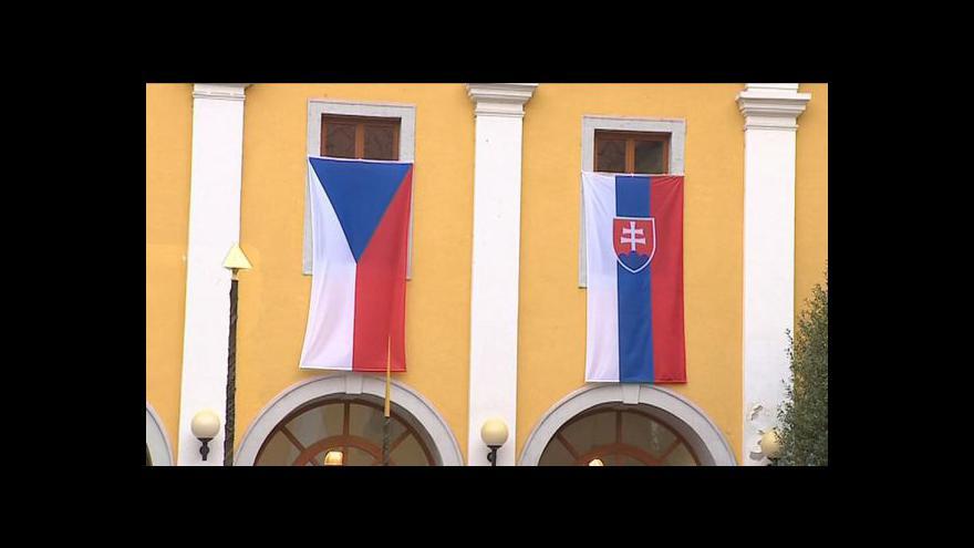 Video Jednání české a slovenské vlády tématem Událostí
