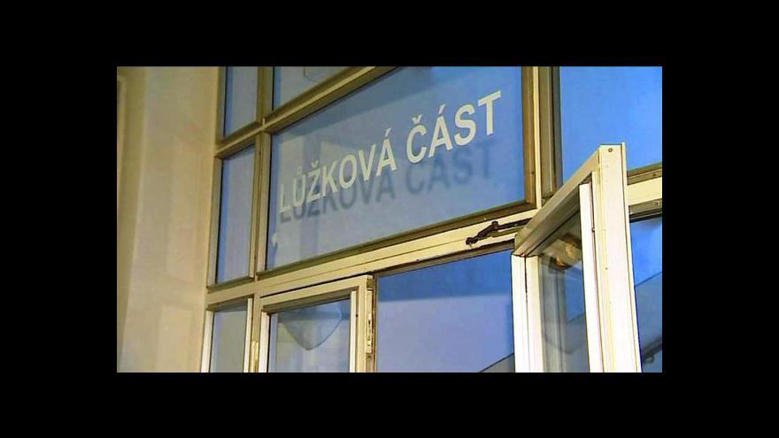 Video Reportáž Lenky Drmotové a Barbory Straňákové o rušení lůžek