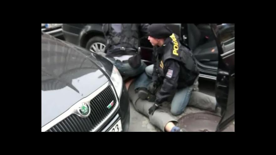 Video Policejní video z akce SMOG