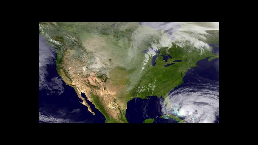 Video Sandy se blíží, USA se důsledně připravují