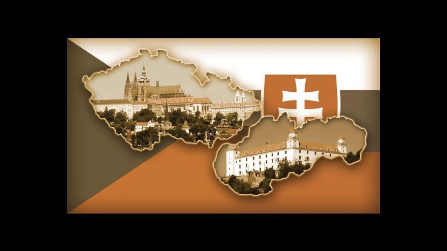 Video Brífink po společném zasedání české a slovenské vlády (Trenčín)