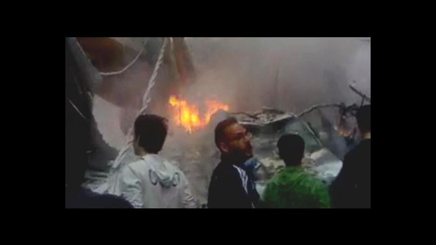 Video Ani příměří nepřineslo do Sýrie klid