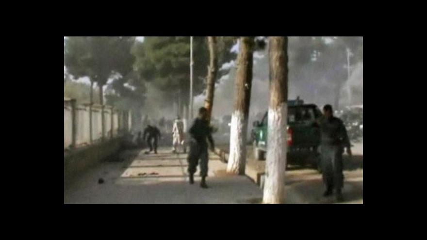 Video Atentátu na severu Afghánistánu padly za oběť desítky lidí
