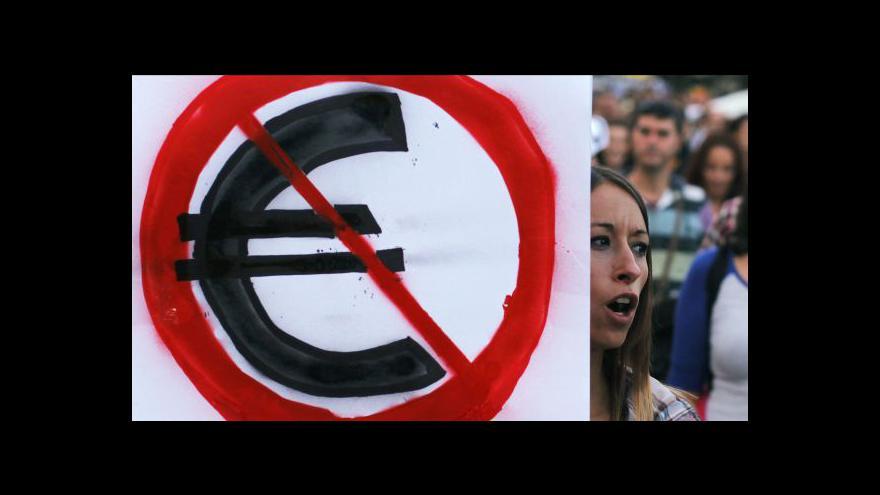 Video Nezaměstnanost ve Španělsku dosáhla 25 procent