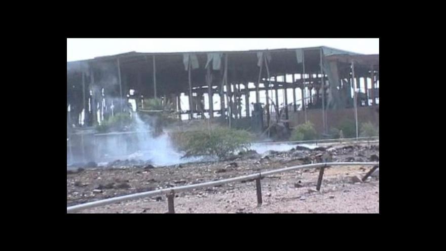 Video Izrael zřejmě bombardoval továrnu v Súdánu