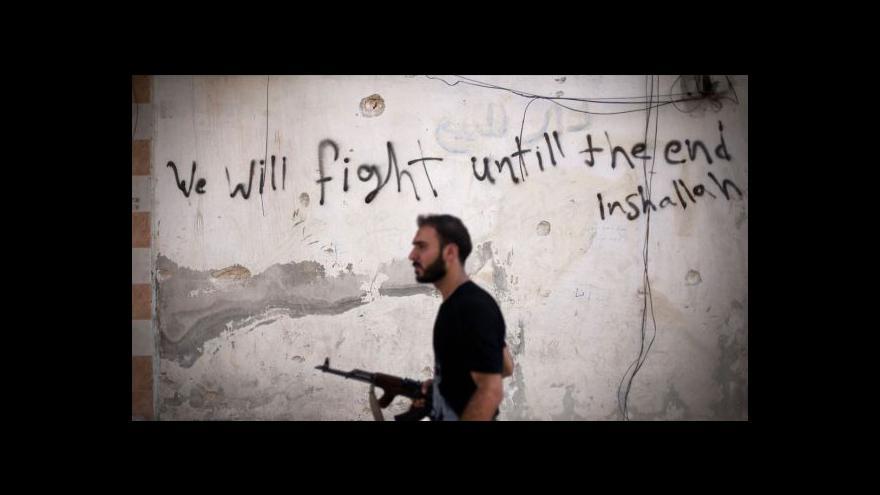 Video Od pátku do pondělí má v Sýrii zavládnout příměří