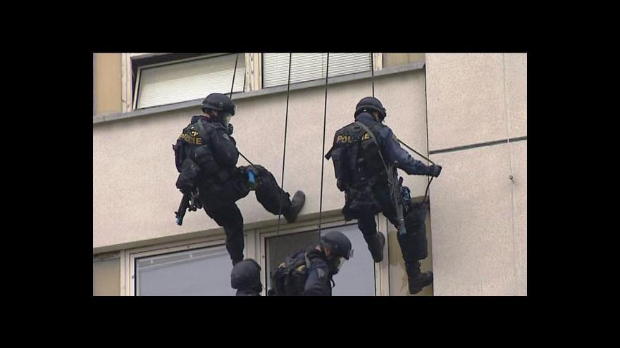 Video Cvičení zásahové jednotky